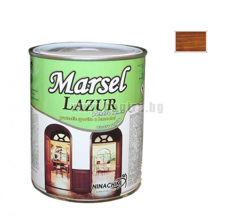 Лазурен лак Marsel  Лазурен лак Marsel - махагон