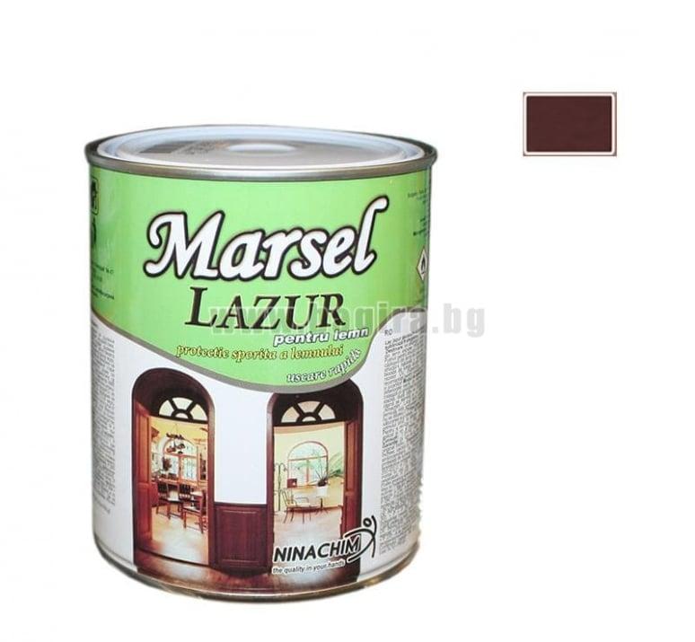 Лазурен лак Marsel  Лазурен лак Marsel - тъмен махагон