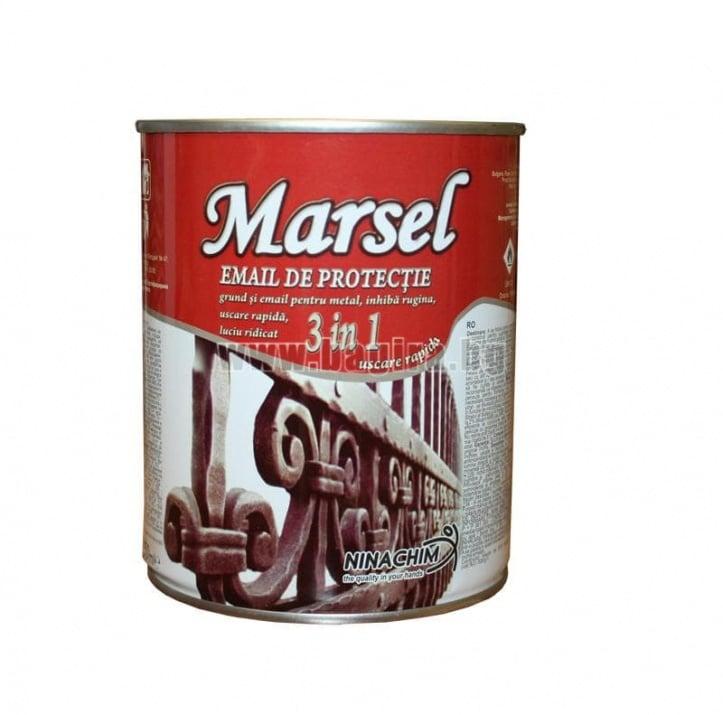 Алкиден емайллак 3в1 Marsel - бял