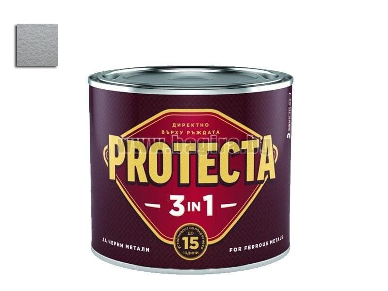 Боя Протекта 3 в 1  2.5 л. - Оргахим Боя Протекта 3 в 1 сив металик 2.5 л. - Оргахим