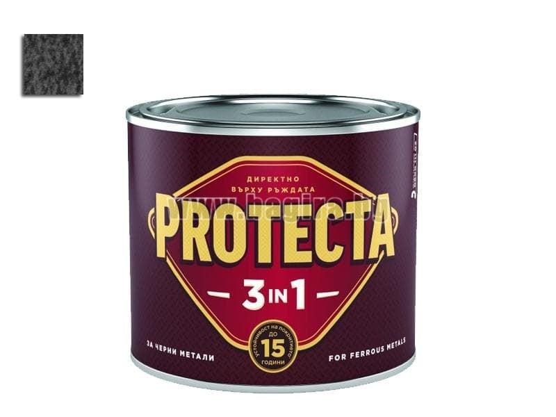 Боя Протекта 3 в 1  2.5 л. - Оргахим Боя Протекта 3 в 1 ефектна черна 2.5 л. - Оргахим