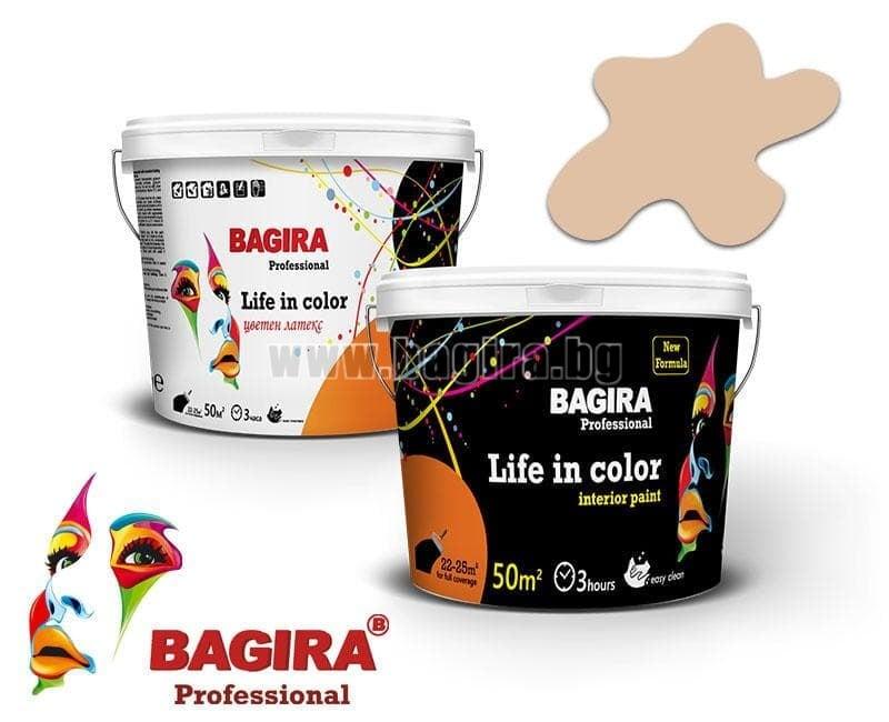 Латекс Bagira 5кг. Латекс Bagira Капучино 5 кг.