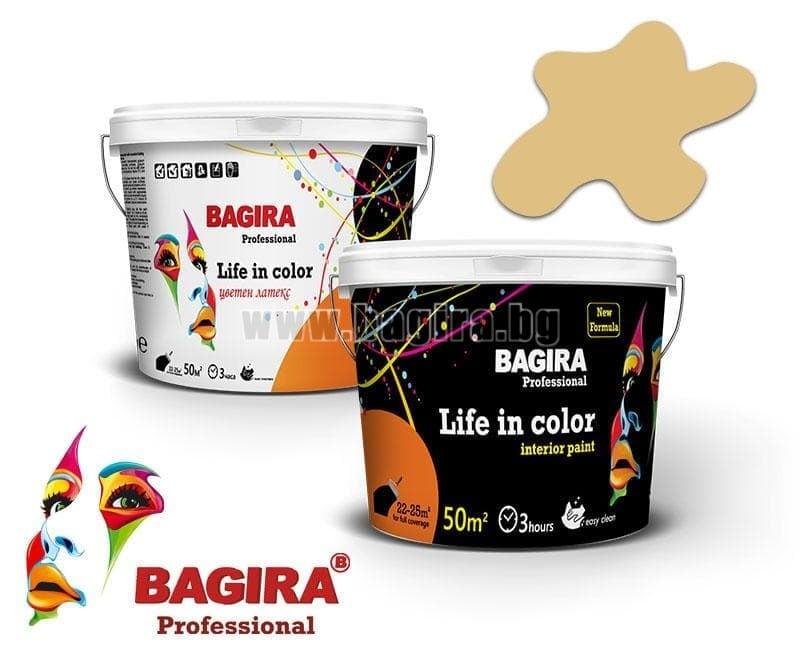 Латекс Bagira 5кг. Латекс Bagira Бадемов чар 5 кг.