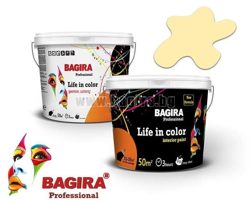 Латекс Bagira 5кг. Латекс Bagira Пясъчно съзвездие 5 кг.