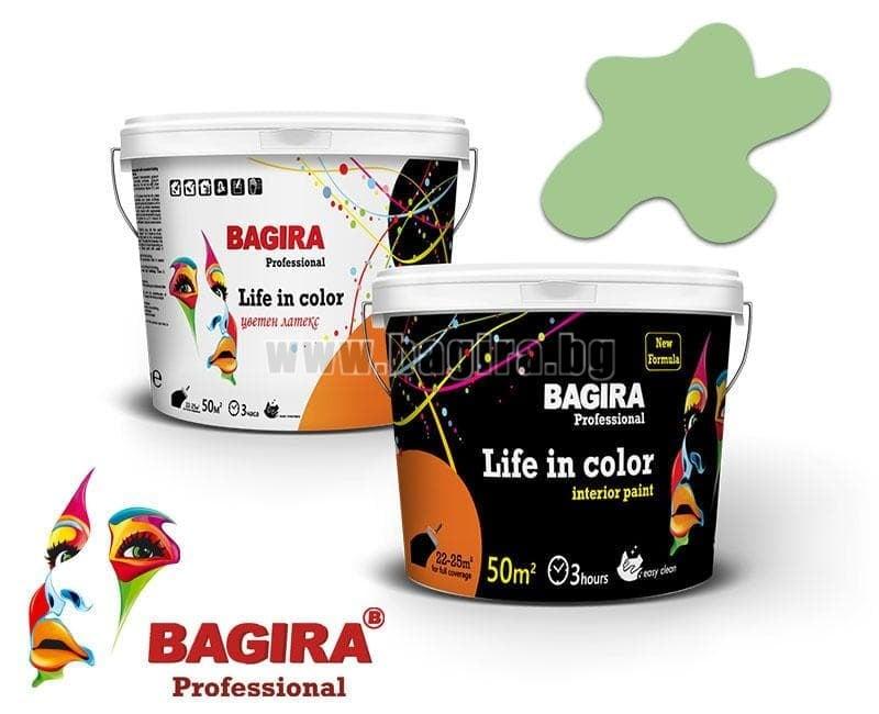 Латекс Bagira 5кг. Латекс Bagira Мохито 5 кг.