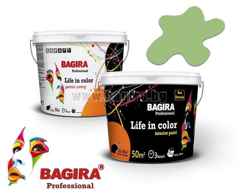 Латекс Bagira 5кг. Латекс Bagira Горско ухание 5 кг.
