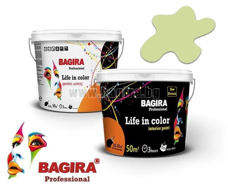 Латекс Bagira 5кг. Латекс Bagira Пролетно вълшебство 5 кг.