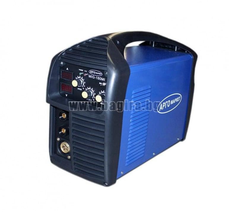 Инверторен електрожен и телоподаващо 2в1 Argo MIG 180MI