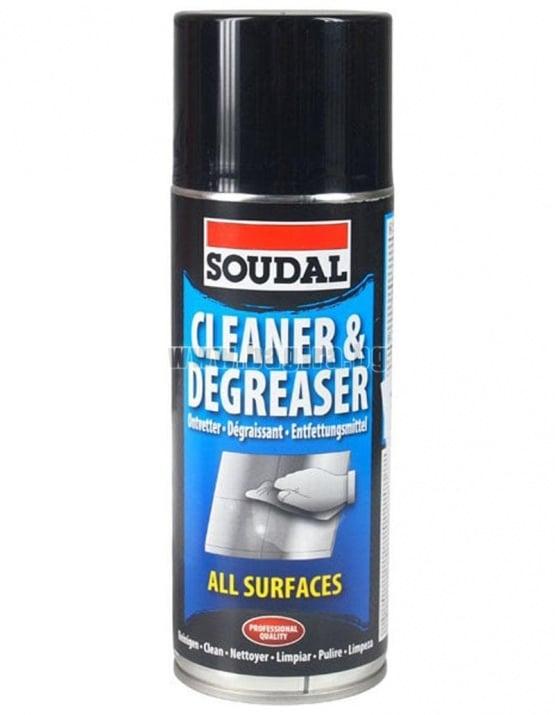 Спрей чистител и обезмаслител - SOUDAL