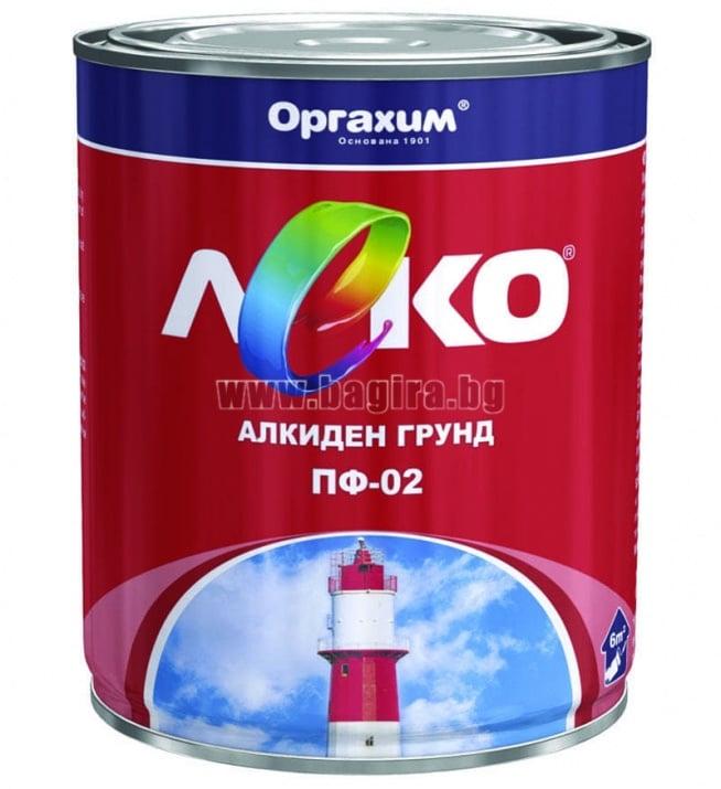 Грунд алкиден - Леко