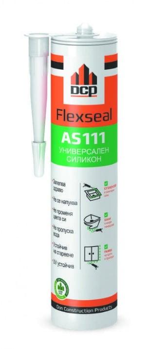 Универсален силикон Flexseal AS111 - бял