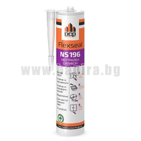 Неутрален силикон Flexseal NS196 - прозрачен
