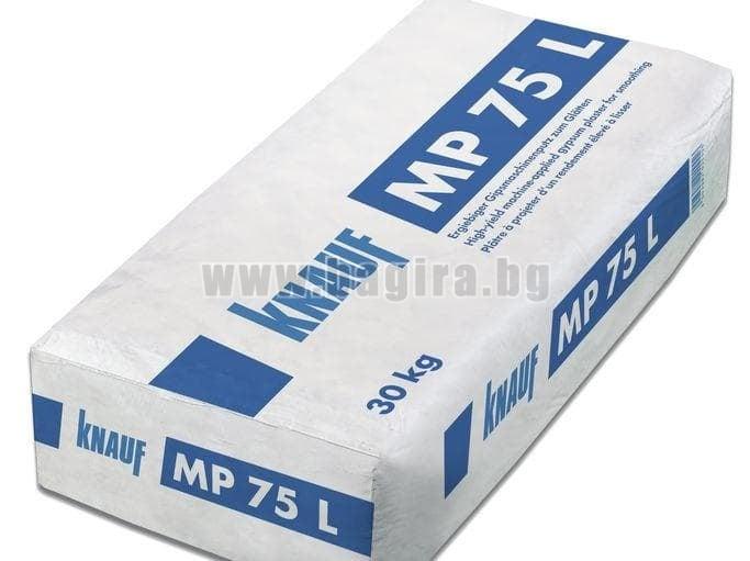 Гипсова машинна мазилка 30 кг. Knauf МР75L