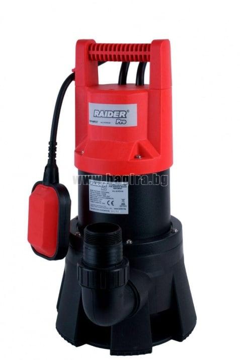 Потопяема помпа за мръсна вода RD-WP27 - Raider