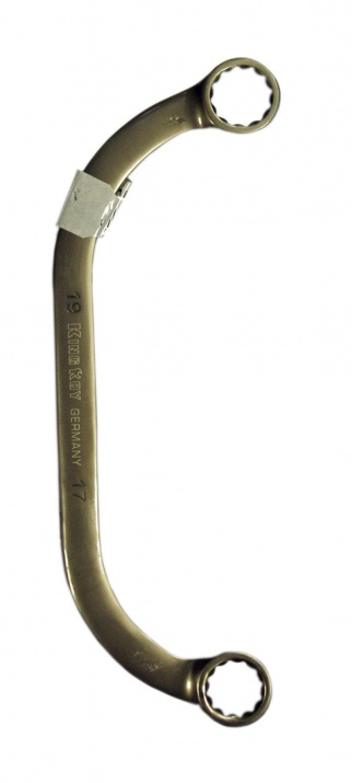 Комбиниран ключ C 17x19  King Roy