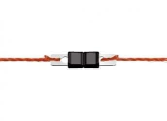 Конектор клипс за електропастир 3 мм. - 10 бр.
