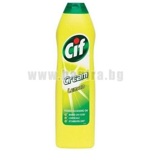 Почистващ препарат Cif Cream Lemon, 500 мл.