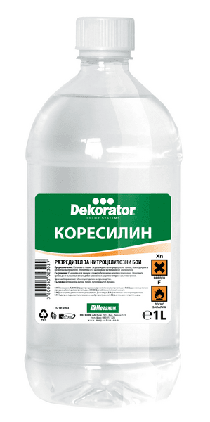 КОРЕСИЛИН 0.5 Л. ДЕКОРАТОР