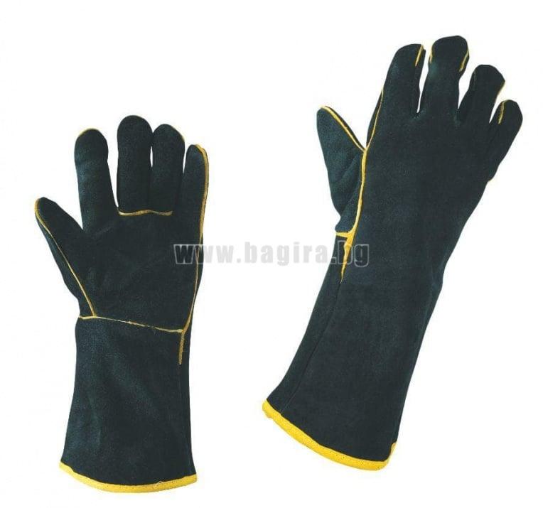 Работни ръкавици от естествена кожа Stenso / W1 SANDPIPER
