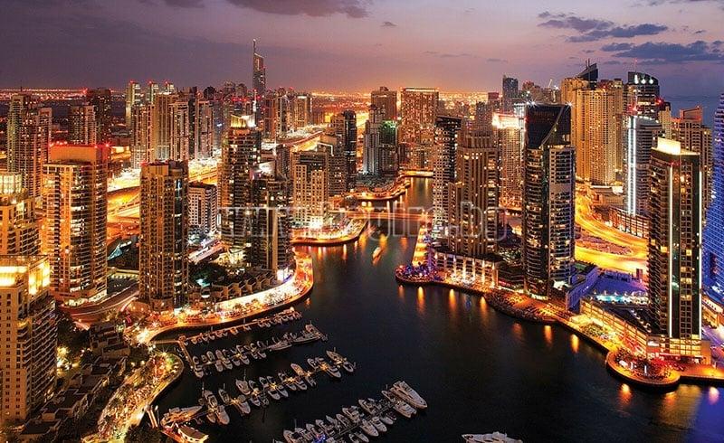 Фототапет Дубай Марина