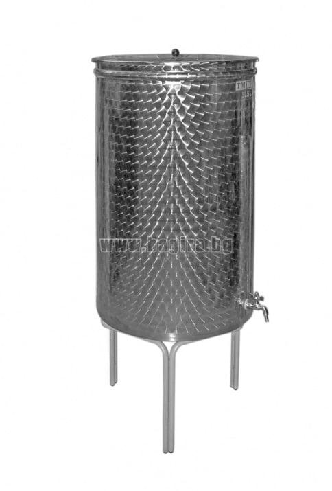 Резервоар за вино MC 610 литра Inox - Пълен комплект