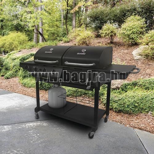 Комбинирано барбекю на газ и дървени въглища Combo 1010 Char-Broil