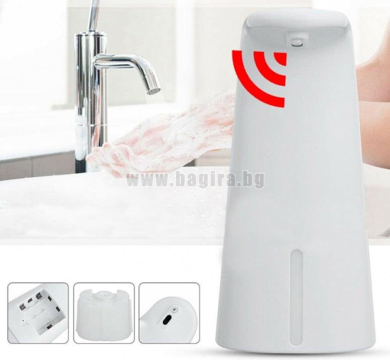 Автоматичен дозатор за сапун и дезинфектант със сензор ICSA6689  Inter Ceramic