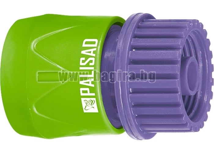"""Съединител, вътрешна резба 3/4"""", пластмасов PALISAD"""