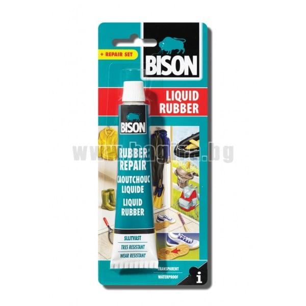 """Лепило """"Течна гума"""" BISON Liquid Rubber"""