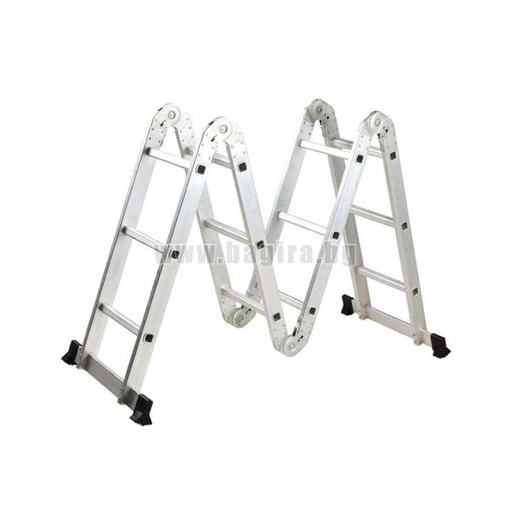 Многофункционална сгъваема стълба 4x3