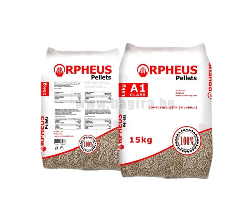 Дървени пелети 15 кг. peleti dyrweni pellets