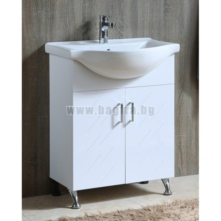 Комплект PVC шкаф и умивалник Давид Inter Ceramic