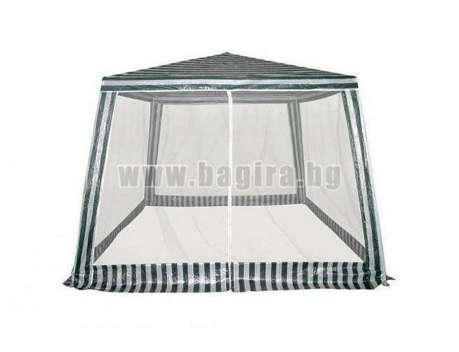 Градинска шатра 3х3 м. с мрежа