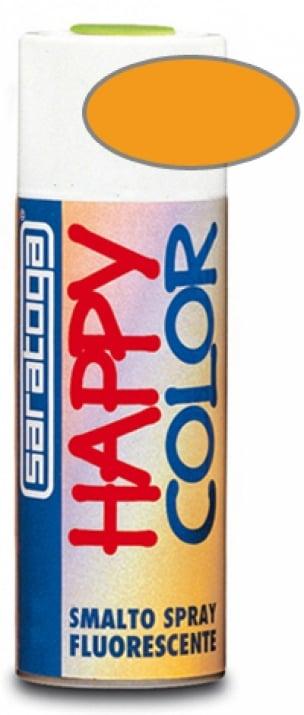Флуорисцентен спрей Happy Color Saratoga 400 мл. Флуорисцентен спрей HAPPY COLOR SARATOGA - жълто/оранжев