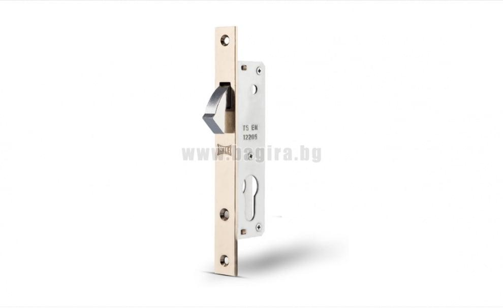Секретна брава за алуминиеви и PVC врати Kara-ka, KALE 201-20mm.