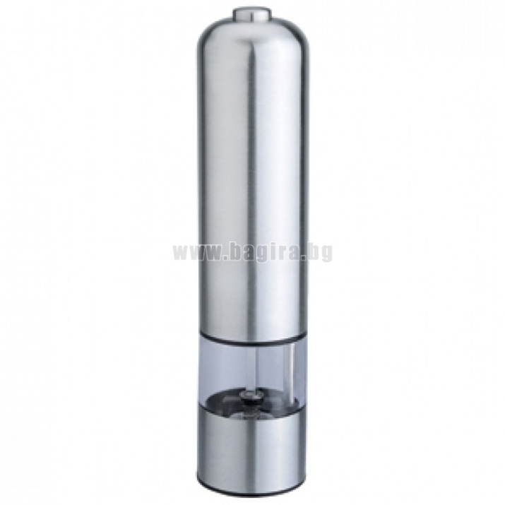 Електрическа мелничка за черен пипер с LED светлина