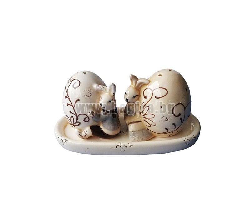 Комплект солници -Зайче с яйце