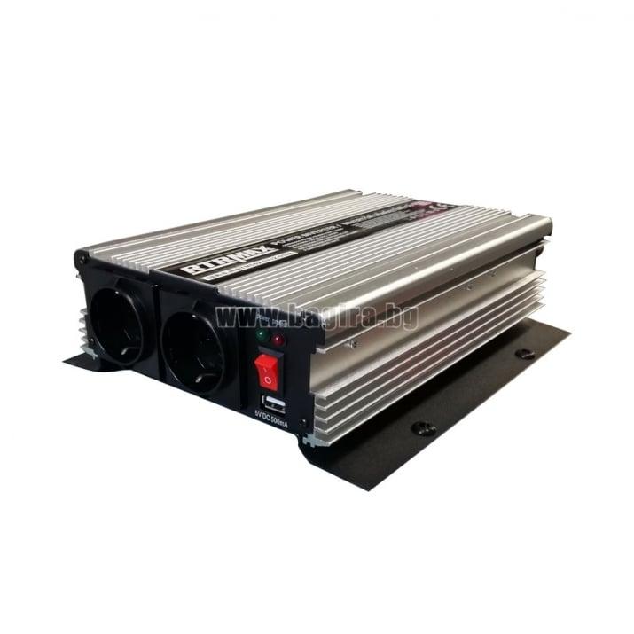 Инвертор-преобразувател на мощност RTRMAX Инвертор 1200W-2400W  RTRMAX