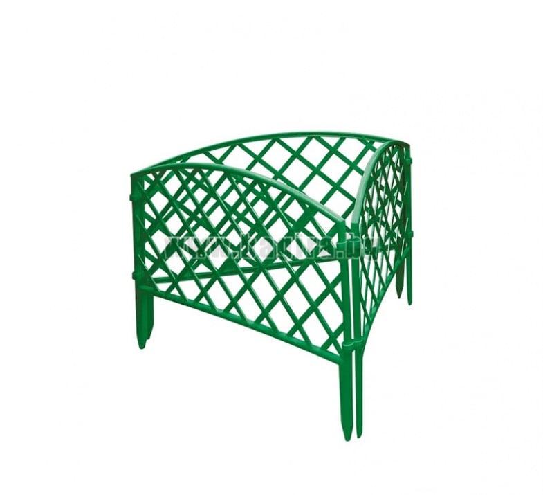 Декоративна плетена ограда-зелена  Palisad