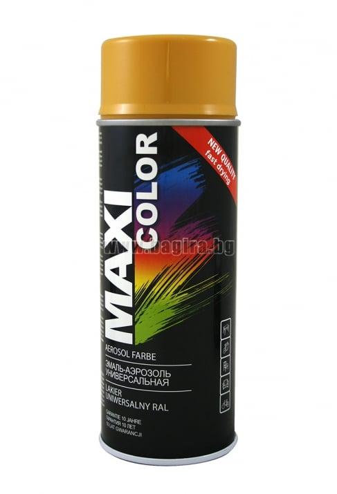 Бързосъхнеща акрилна спрей боя Maxi Color Спрей боя Maxi Color RAL 1004