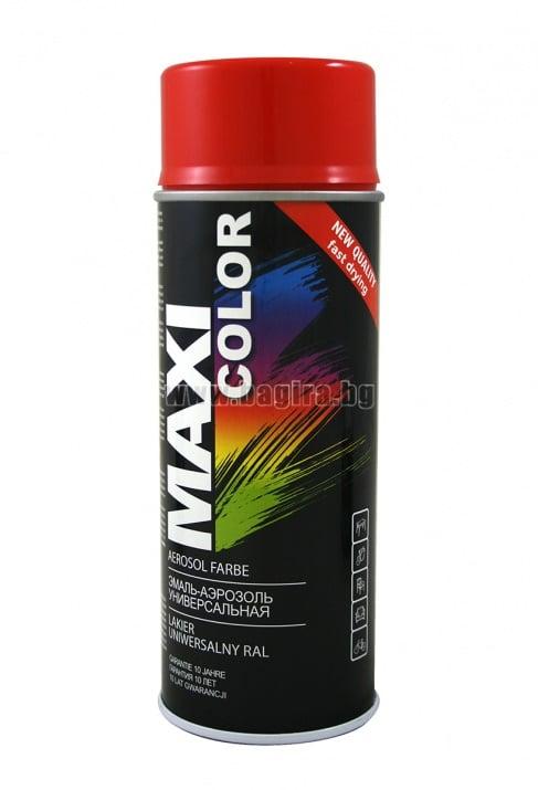 Бързосъхнеща акрилна спрей боя Maxi Color Спрей боя Maxi Color RAL 2002