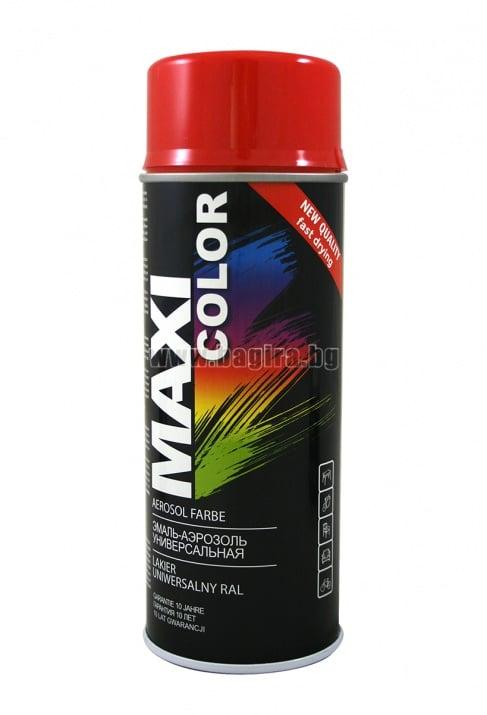 Бързосъхнеща акрилна спрей боя Maxi Color Спрей боя Maxi Color RAL 3000
