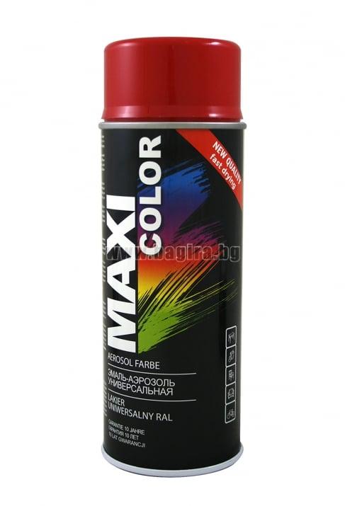 Бързосъхнеща акрилна спрей боя Maxi Color Спрей боя Maxi Color RAL 3002