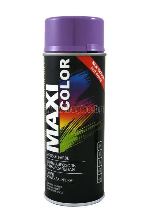 Бързосъхнеща акрилна спрей боя Maxi Color Спрей боя Maxi Color RAL 4005