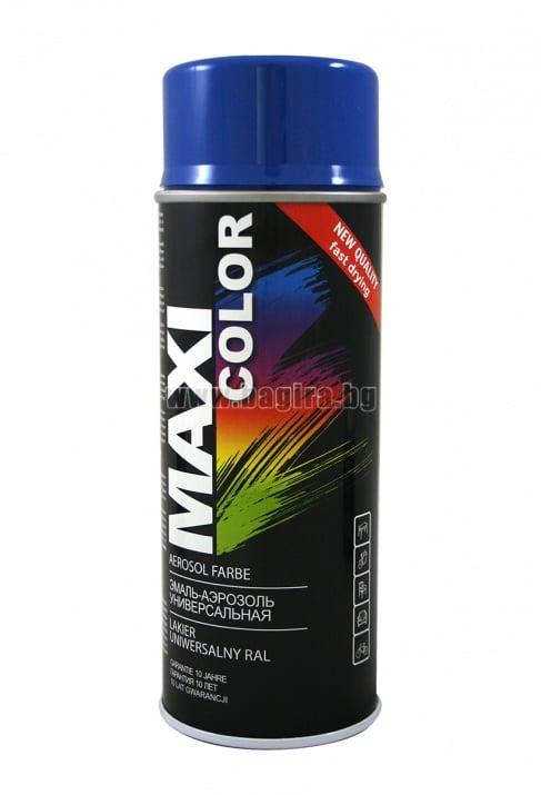 Бързосъхнеща акрилна спрей боя Maxi Color Спрей боя Maxi Color RAL 5010