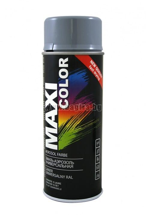 Бързосъхнеща акрилна спрей боя Maxi Color Спрей боя Maxi Color RAL 7001