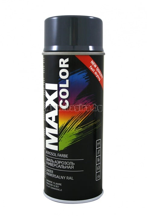 Бързосъхнеща акрилна спрей боя Maxi Color Спрей боя Maxi Color RAL 7024
