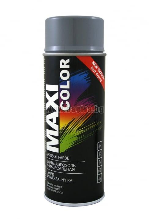Бързосъхнеща акрилна спрей боя Maxi Color Спрей боя Maxi Color RAL 7046
