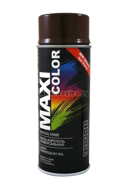 Бързосъхнеща акрилна спрей боя Maxi Color Спрей боя Maxi Color RAL 8011