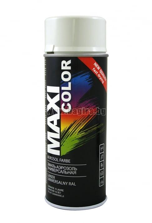 Бързосъхнеща акрилна спрей боя Maxi Color Спрей боя Maxi Color RAL 9003